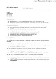 Sample For Teacher Resume by Elementary Teacher Resume Cover Letter Examples Pg2 Chronological