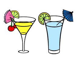 disegni bicchieri disegno i due bicchieri d acqua e limone colorato da adriechia il