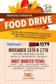freewishes foundation food drive freebandz