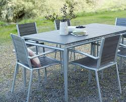 powder coated aluminum outdoor dining table ticari rectangular dining table from scandinavian designs the
