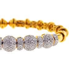 yellow bangle bracelet images Womens diamond flexible cuff bangle bracelet 18k yellow gold 1 9 ct jpg