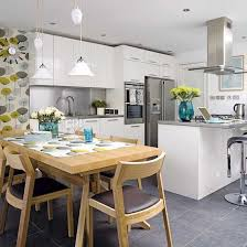 kitchen dining decorating ideas kitchen and breakfast room design ideas with nifty open plan