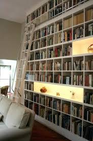 bookshelves with lights bookcase lighting ideas white wooden
