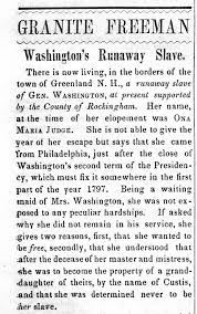 in search of the slave who defied george washington the new york