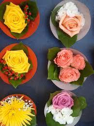 small flower arrangements in a paris flower store david lisbona