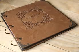 large leather photo albums large leather scrapbook diy photo album signature book