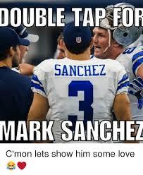 Mark Sanchez Memes - double tap for sanchez mark sanchez c mon lets show him some love