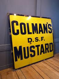 colman s mustard antiques atlas colman s mustard sign