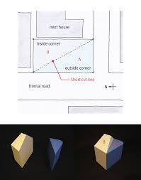 corner lot house plans half and half house japanese architecture
