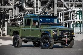 land rover defender 2020 the land rover defender 130 u0027the huntress u0027 comes with alligator