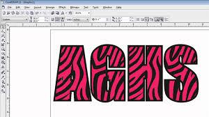 creating animal print patterns using coreldraw youtube
