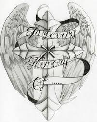 wings gallery 50 cross tattoos designs of