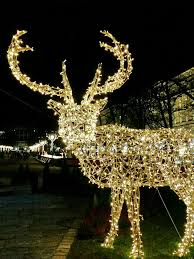 Deer Christmas Lights Christmas Twinkle And Festive Helsinki City Lights Ticket To