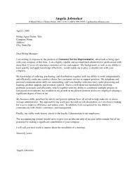 Insurance Representative Resume Customer Service Representative Resume Cover Letter Image
