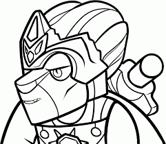 lego coloring pages with characters chima ninjago city star
