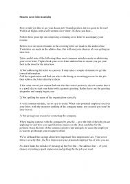 the awesome examples of good cover letters for resumes resume