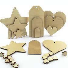 wooden shapes crafts ebay