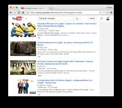 easily find full length movies on youtube techwiser