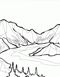 glacier colouring pages 2 162573 mountain coloring