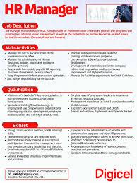 Account Executive Job Description Resume by Human Resources Job Description For Resume Free Resume Example