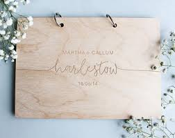 wedding gift registry book wedding guest books etsy