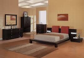 Bedroom Makeover Ideas by Bedroom Fancy Ideas In Bedroom Decoration Using Brown Stripes