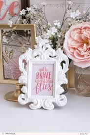 home decor welcoming frame pink paislee