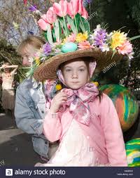 easter bonnet contestant in the easter bonnet contest at the tavern on the park