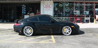old porsche 911 wide body hre p40 rims in a wide body 2012 porsche 911 turbo s street dreams