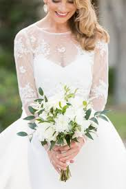 white wedding bouquets green and white bridal bouquet elizabeth designs the