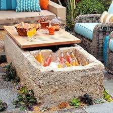 coffee table with cooler outdoor storage solutions 10 picks for your deck porch or patio
