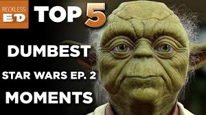 top 5 star wars dumbest things about episode 2 attack of the