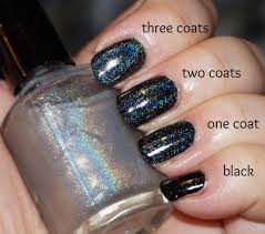 rainbow all the things linear holographic top coat less grey