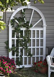 vienna vinyl trellis for roses etc new england arbors