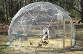 Things In A Backyard Pre Fab Room Sized Geodesic Domes