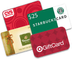donate your card partially used and gift card balances