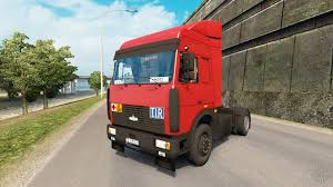 maz car maz 5432 v5 04 for euro truck simulator 2