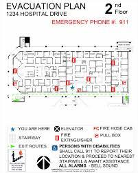 ideas picture floor evacuation plan template evacuation