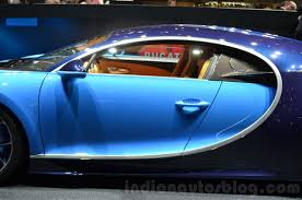 bugatti chiron sedan bugatti chiron middle at the 2016 geneva motor show indian autos