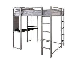 Double Size Loft Bed With Desk Double Loft Bed Amazon Com