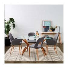 life interiors kobe rectangle dining table beech modern