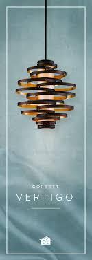 vertigo spiral bronze and gold leaf modern pendant chandelier lighting modern living room vertical pendant light with inner glass cylinder shade and four