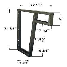 stone pro ada compliant countertop support bracket