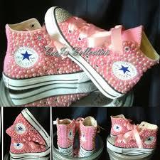 pearl converse custom converse custom high top converse