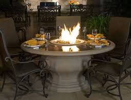 Firepit Patio Table Inspiration Idea Patio Fireplace Table Balboa Pit Tables