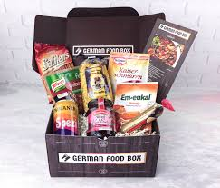 german gift basket german food box april 2017 subscription box review coupon