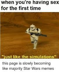 Star Wars Sex Meme - 25 best memes about star wars star wars memes