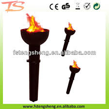 Flame Decorations Indian Wedding Decorations 66cm Big Torch Fake Fire Led Silk Flame