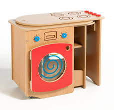 Play Kitchen Red Roll Unfold Wooden Play Kitchen Folding Childrens Play Kitchen