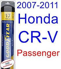 2008 honda crv wiper blades amazon com 2007 2011 honda cr v wiper blade passenger goodyear